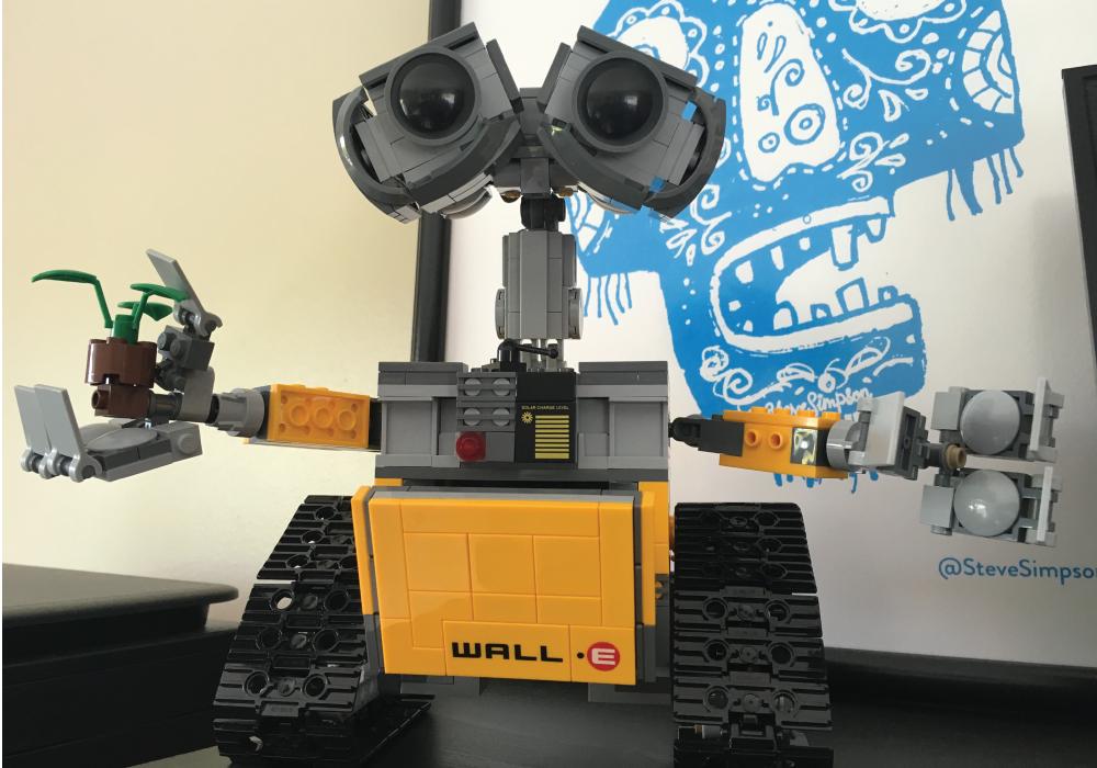 Wall-e Lego model