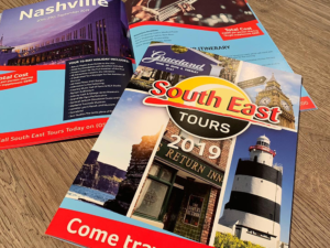 South East Tours brochure